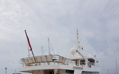 Realizzazione interni - Yacht Emera